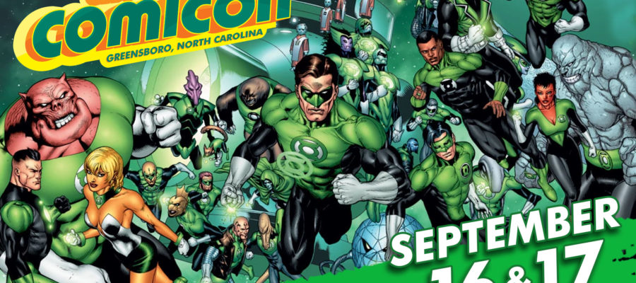 Greensboro-comicon green lantern logo